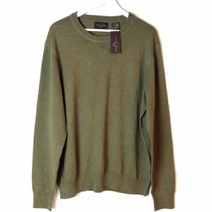 Black Brown Army Green Sweater